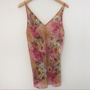 Victoria's Secret floral slip or chemises size M